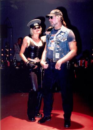 Jean and Biker