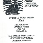 Spoken Word Speed Flyer