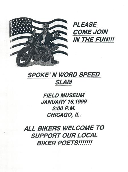 Spoken Word Speed Flyer